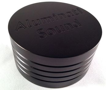 Aluminum Record Weight by Aluminati Sound