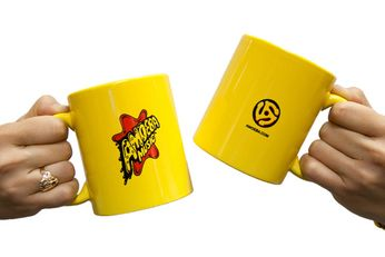 Amoeba Mug (Yellow)