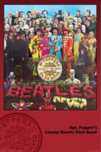 The Beatles - Sgt. Pepper's Lonely Hearts Club Band (Poster)