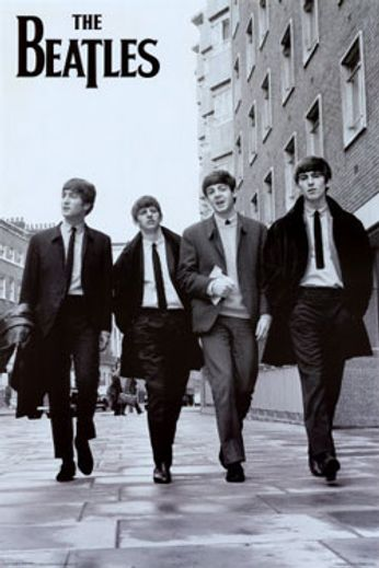 The Beatles - Street Walkers (Poster)
