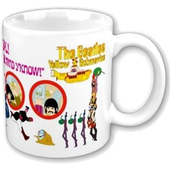 The Beatles - Yellow Submarine (Mug)