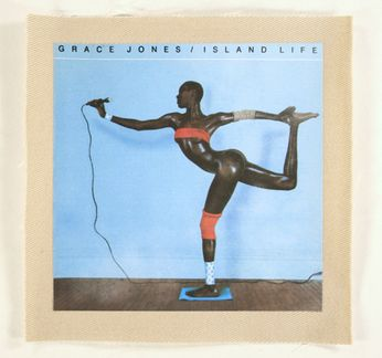 Grace Jones - Island Life Cover (Patch)