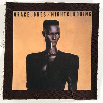 Grace Jones - Nightclubbing Cover Patch