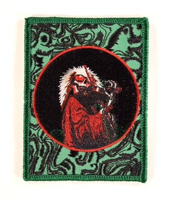 Grateful Dead - Skeleton Green (Patch)