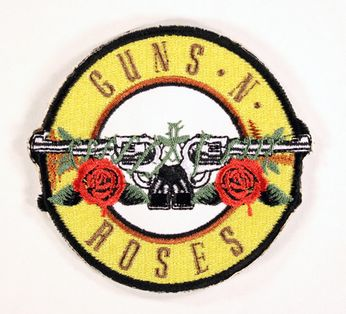 Guns N Roses - Circular Logo Patch
