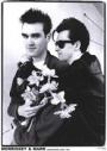 Morrissey & Johnny Marr  - Morrissey and Marr Manchester 1983 (Poster)