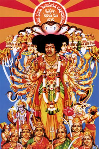 The Jimi Hendrix Experience Axis Bold As Love Poster