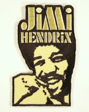 Jimi Hendrix - Yellow & Black (Patch)
