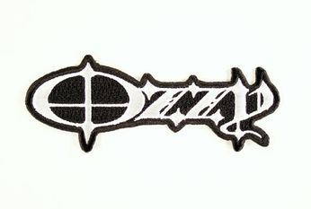 Ozzy Osbourne - Black & White Logo Patch