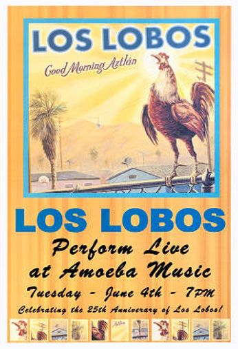 Los Lobos - Los Lobos Perform Live at Amoeba Music (Poster)