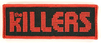 The Killers - Black & Red Logo Patch
