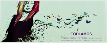 Tori Amos - Comic Book Tattoo Book Signing at Amoeba Hollywood (Poster)