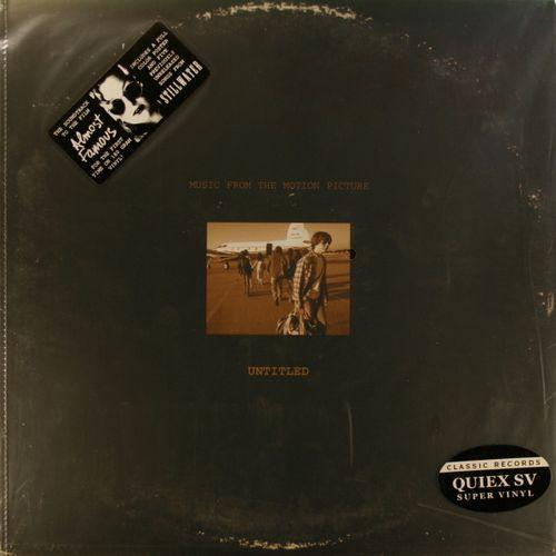 Various Artists Almost Famous Ost Quiex Sv Vinyl Lp