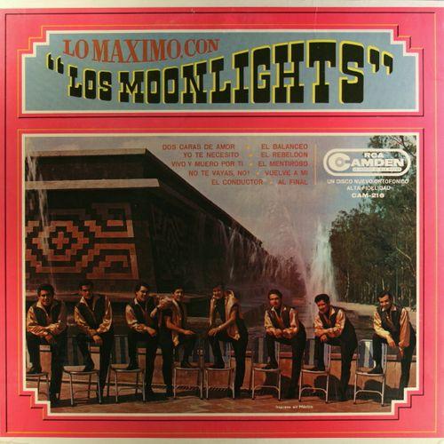 Los Moonlights Lo Maximo Con Los Moonlights Vinyl Lp