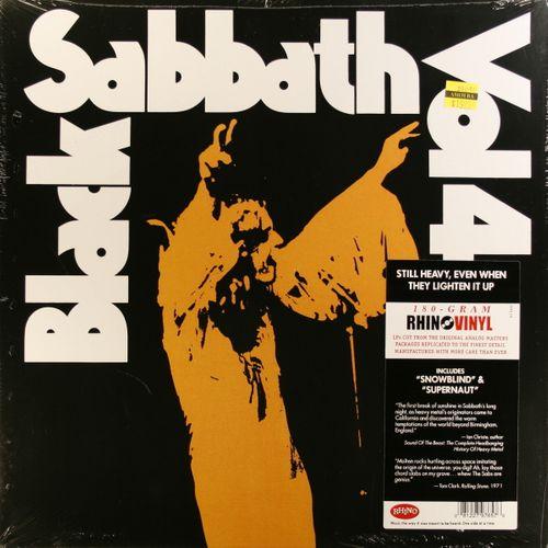 Black Sabbath Vol 4 180 Gram Vinyl Vinyl Lp