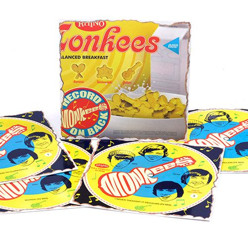 The Monkees Cereal Box Records Set Vinyl 7 Quot Amoeba Music
