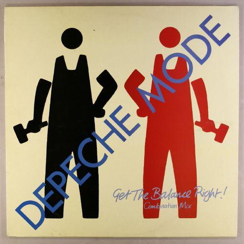 Depeche Mode Get The Balance Right Uk Issue Vinyl 12