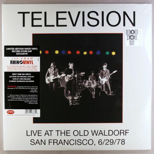 Television Live At The Old Waldorf San Francisco 6 29