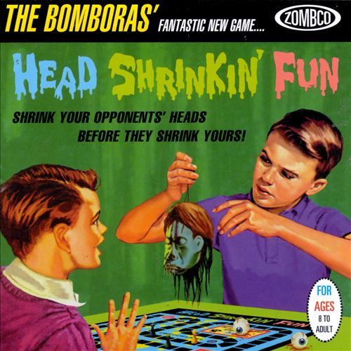 Bomboras Head Shrinkin Fun Cd Amoeba Music