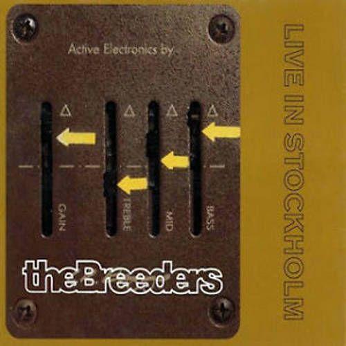 The Breeders Live In Stockholm Cd Amoeba Music