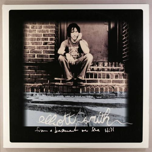 elliott smith from a basement on the hill vinyl lp amoeba music