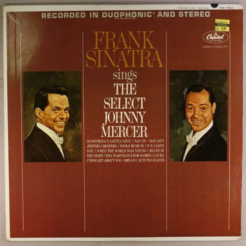 Frank Sinatra Sings The Select Johnny Mercer Vinyl Lp