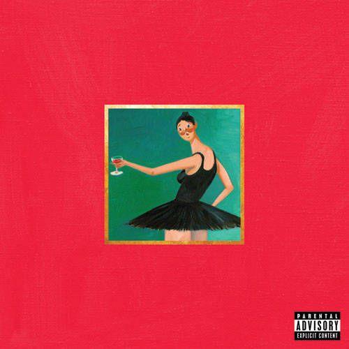 Kanye West My Beautiful Dark Twisted Fantasy Vinyl Lp