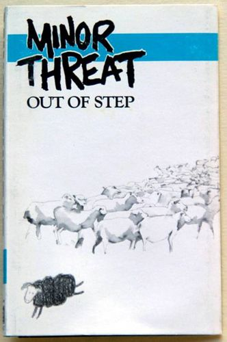 Minor Threat Out Of Step Cassette Amoeba Music