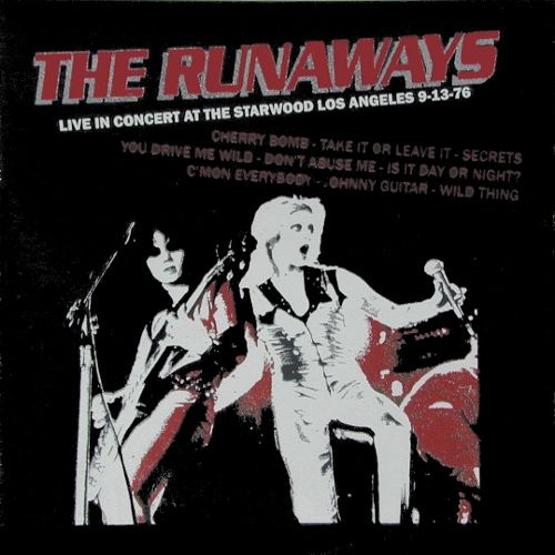 The Runaways Live In Concert At The Starwood Los Angeles