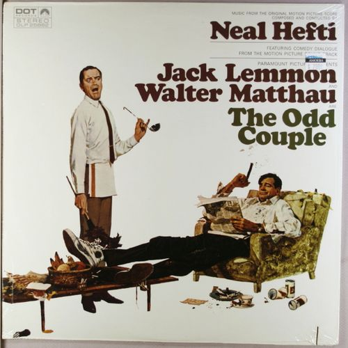 neal hefti the odd couple ost vinyl lp amoeba music. Black Bedroom Furniture Sets. Home Design Ideas