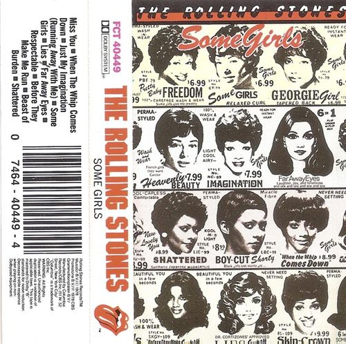 The Rolling Stones Some Girls Cassette Amoeba Music