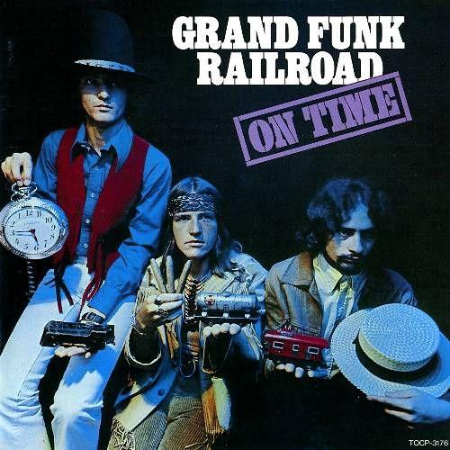 grand funk railroad on time cd amoeba music. Black Bedroom Furniture Sets. Home Design Ideas