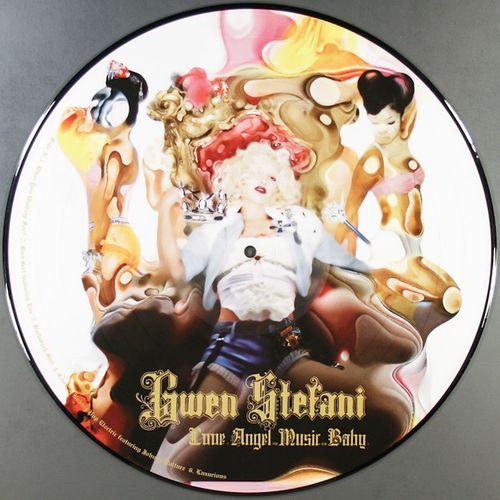 Gwen Stefani Love Angel Music Baby Picture Disc