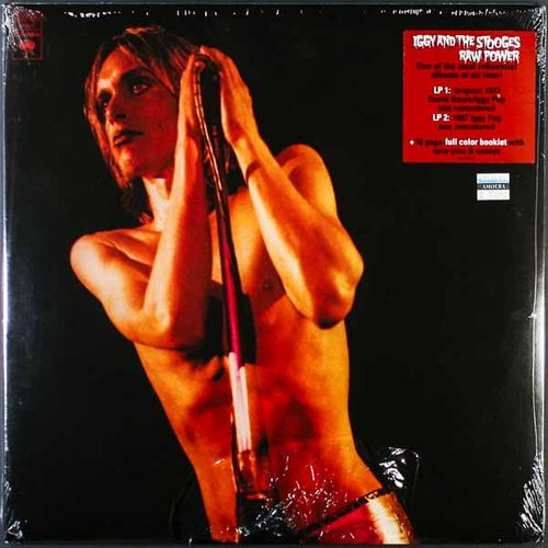 Iggy Amp The Stooges Raw Power Remastered 180 Gram 2lp