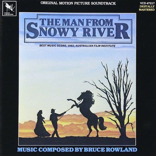 Bruce Rowland The Man From Snowy River Score Cd