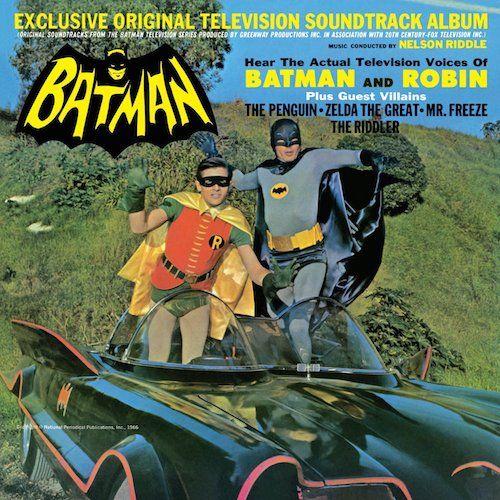 Nelson Riddle Batman Original TV Soundtrack