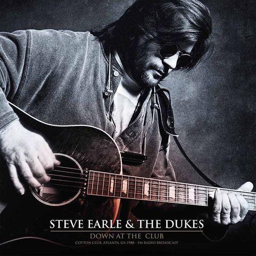 Steve earle the dukes down at the club cotton club for 1988 club music