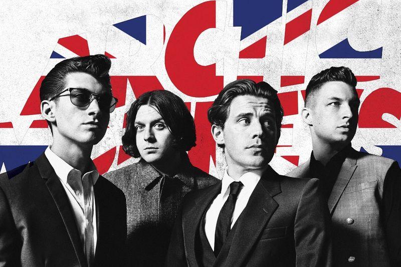 Arctic Monkeys Union Jack Poster Amoeba Music