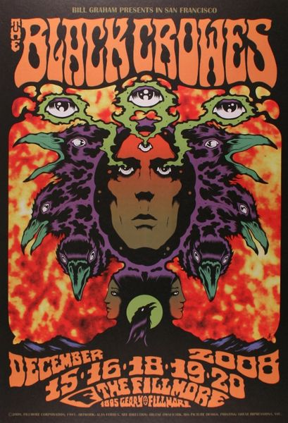 The Black Crowes The Fillmore December 15 16 18 20
