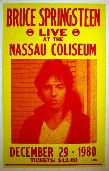 Bruce Springsteen Nassau Coliseum December 29 1980
