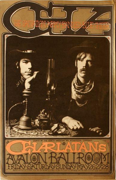 The Charlatans The Avalon Ballroom May 26 28 1967