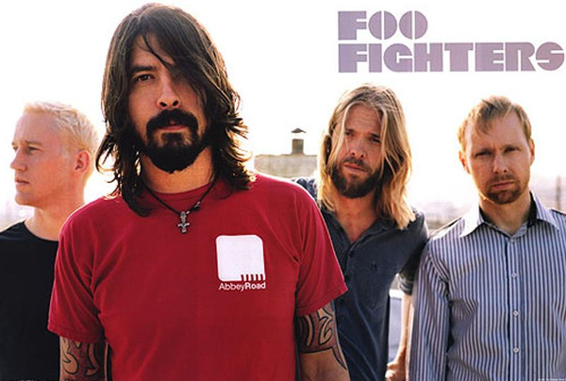 Foo Fighters Red Shirt Poster Amoeba Music