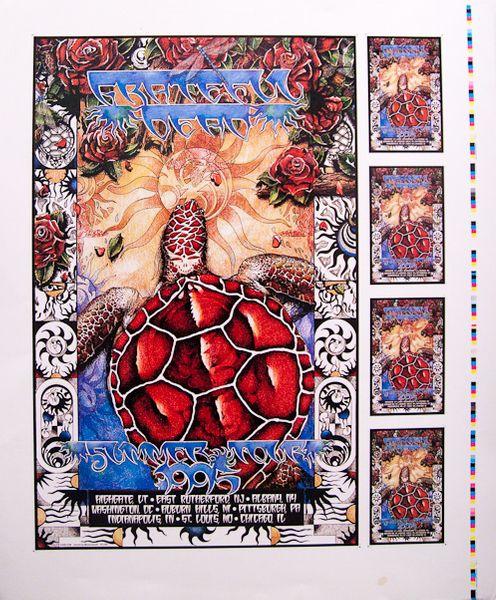Grateful Dead Summer Tour  Poster