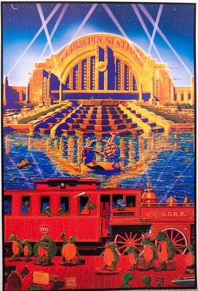Grateful Dead Terrapin Station Poster Amoeba Music