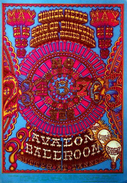 Junior Wells The Avalon Ballroom May 17 19 1968