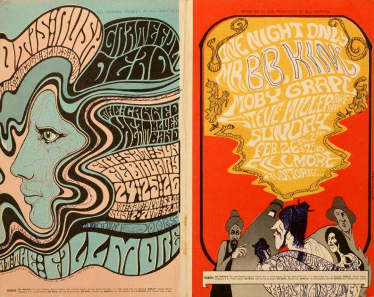 Grateful Dead The Fillmore February 24 26 1967 B B