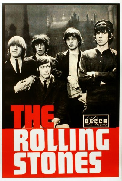 The Rolling Stones Decca Records Poster Amoeba Music