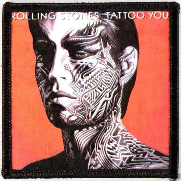 The Rolling Stones Tattoo You Cover Patch Amoeba Music