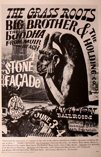 The Grass Roots The Avalon Ballroom June 3 4 1966