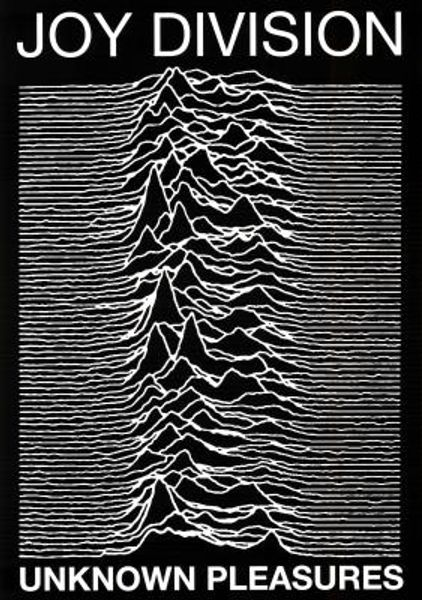Joy Division Unknown Pleasures Poster Amoeba Music